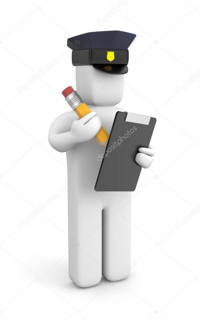 depositphotos 26505541 stock photo police officer writing a ticket